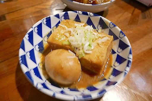 煮込み(卵&豆腐)